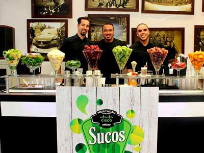 TremBão Eventos oferece serviços para buffet corporativo