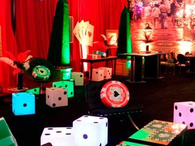 Um casino no seu evento