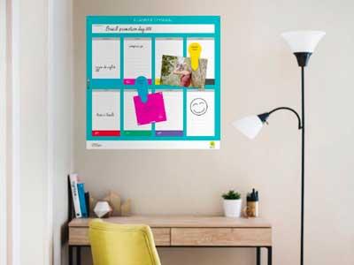 Planner adesivo para organizar tarefas