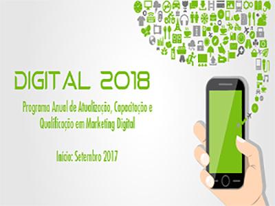 Digital 2018 capacita profissionais interessados em tendências e novos desafios