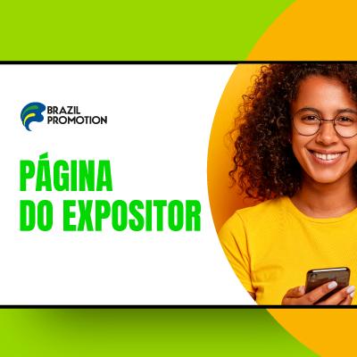 PÁGINA DO EXPOSITOR