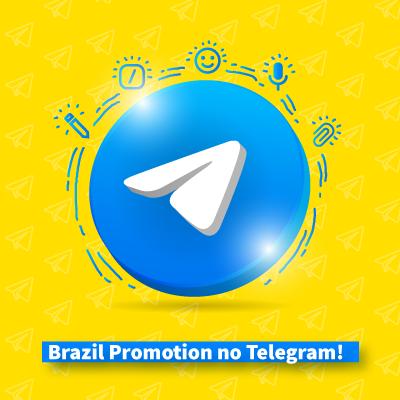 BRAZIL PROMOTION NO TELEGRAM