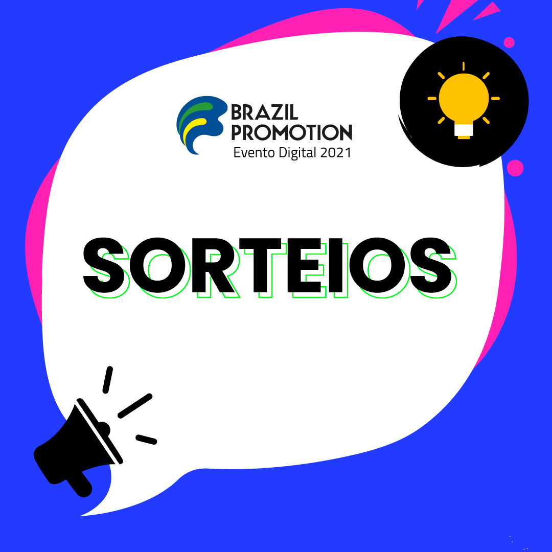 SORTEIOS INCRÍVEIS NA BRAZIL PROMOTION